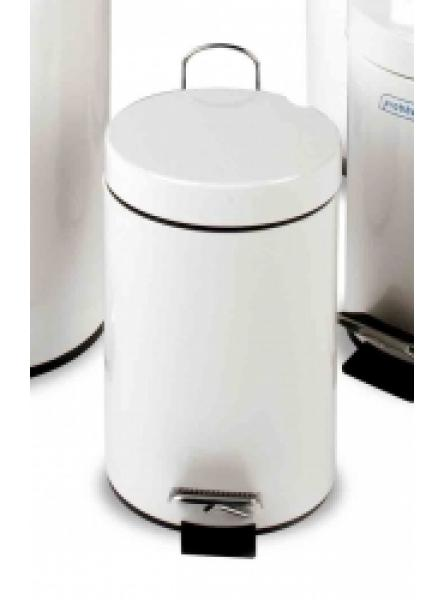 12l Pedal Operated Bin White Plastic Liner