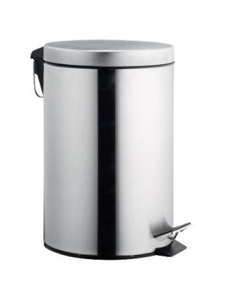20l Pedal Operated Bin Mirror Stainless Steel