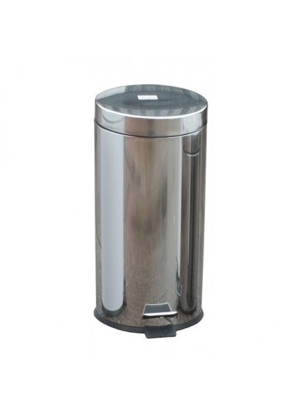 30l Pedal Operated Bin Mirror Stainless Steel