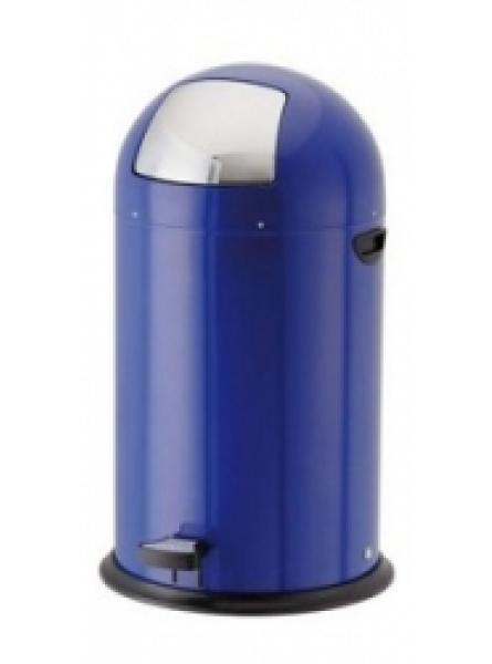 40L Steel Pedal Bins Blue