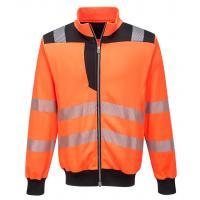PW370 > PW3 Hi-Vis Sweatshirt > Orange/Black