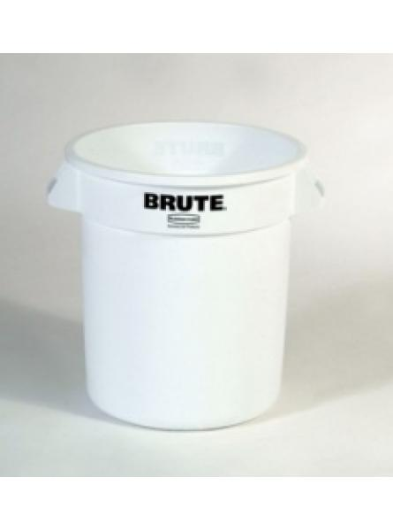 Round Container Capacity 37.8l- White