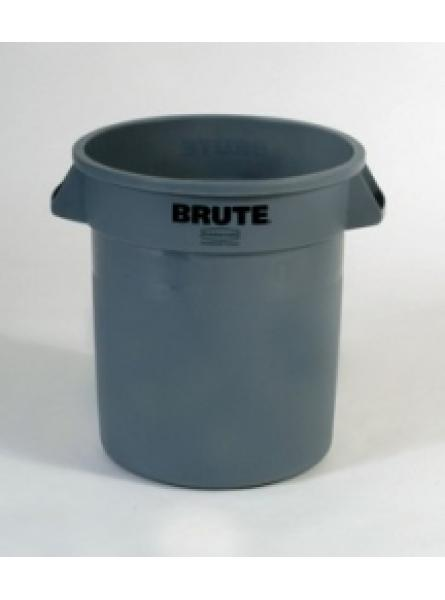 Round Container Capacity 37.8l-Grey