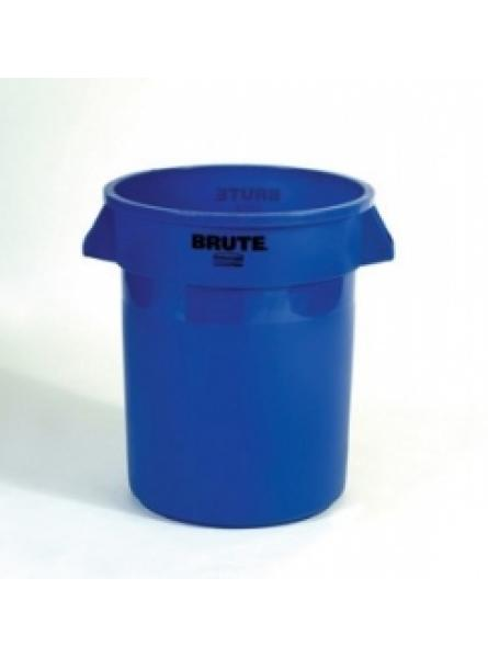 Round Container Capacity 75.7 Blue