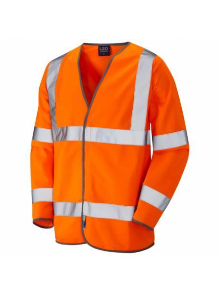 Shirwell ISO 20471 Class 3 Sleeved Waistcoat Orange