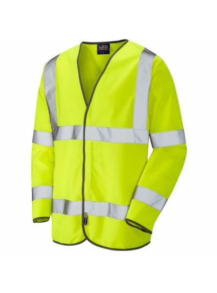 Shirwell ISO 20471 Class 3 Sleeved Waistcoat Yellow