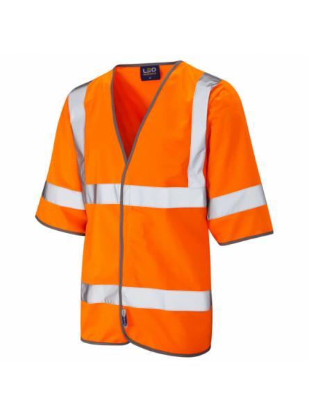 Gorwell ISO 20471 Class 3 Half Sleeve Waistcoat Orange
