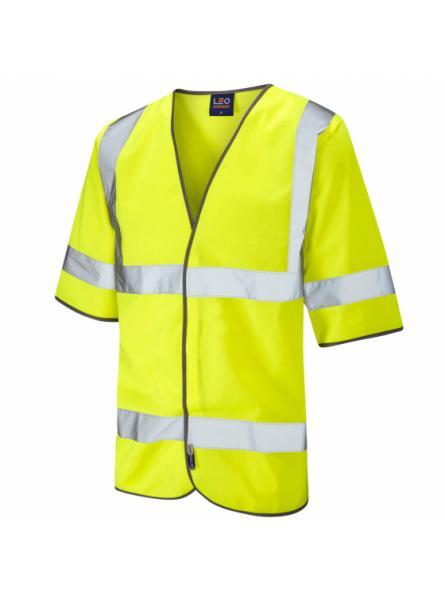 Gorwell ISO 20471 Class 3 Half Sleeve Waistcoat Yellow