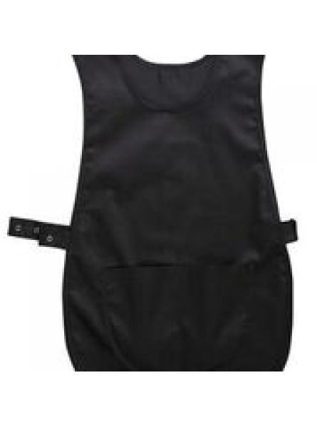 Tabard with Pocket-Black