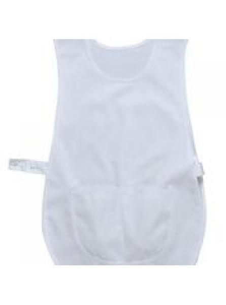 Tabard with Pocket-White