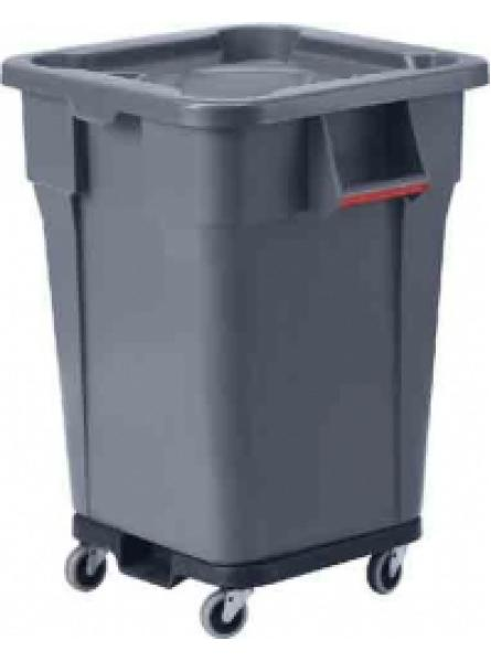 150l Heavy Duty Square Container Grey