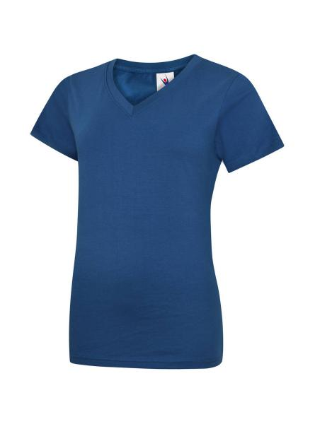 UC319 Ladies Classic V Neck T Shirt