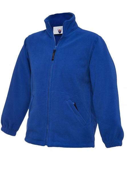 UC603 Childrens Full Zip Micro Fleece Jacket