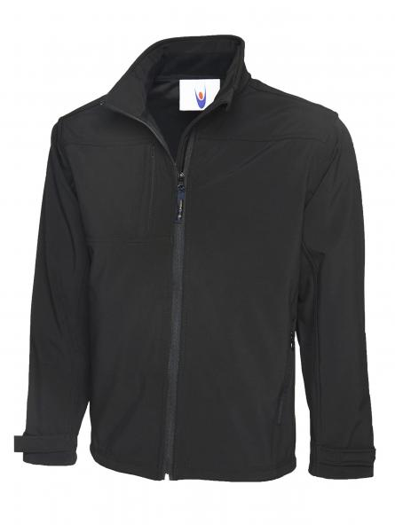 UC611 Premium Full Zip Soft Shell Jacket