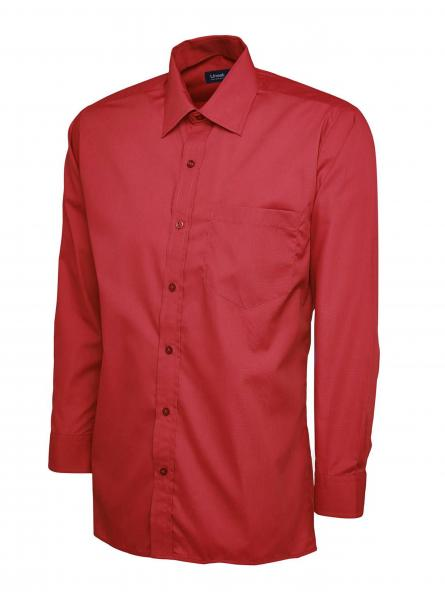 UC709 Mens Poplin Full Sleeve Shirt