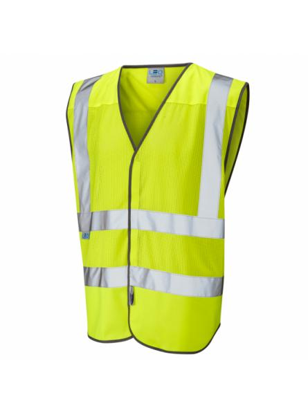 Arlington ISO 20471 Class 2 Coolviz Waistcoat Yellow