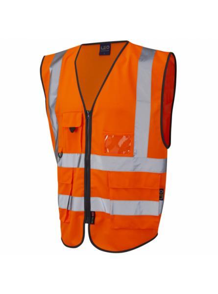 Lynton ISO 20471 Class 2* Superior Waistcoat Orange