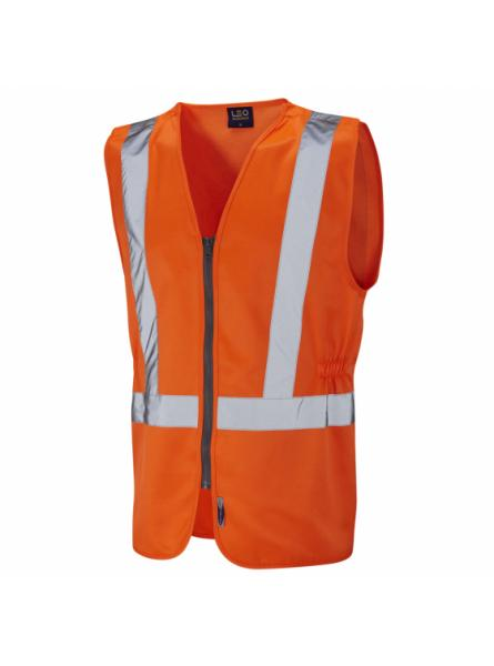 Copplestone ISO 20471 Class 2 Railway Plus Waistcoat Orange