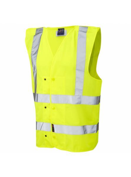 Rackenford ISO 20471 Class 2 Underground Waistcoat Yellow
