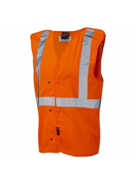 Chapelton ISO 20471 Class 2 Underground Waistcoat Orange