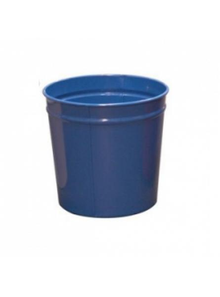 12 Litre waste baskets, steel, Blue