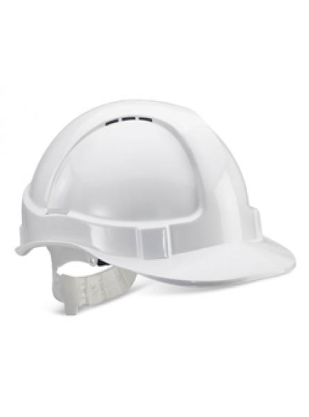 Basic Safety Helmet - White/Blue