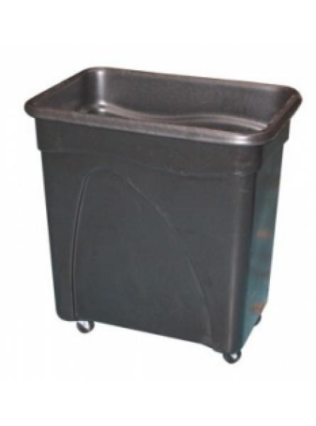 Bottle Skip 650 x 450 x 690mm Black