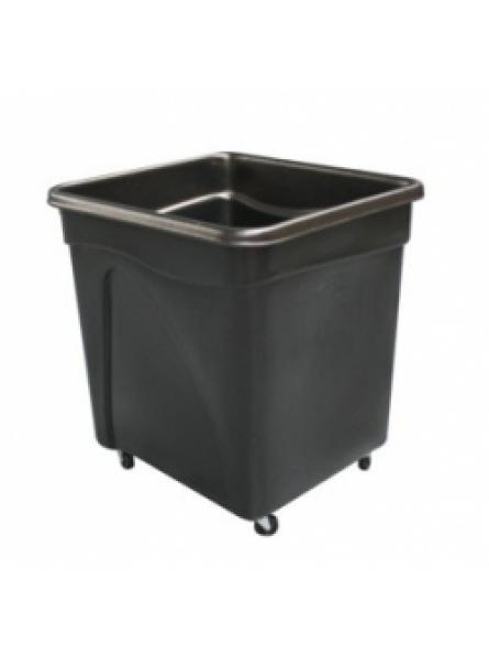 Bottle Skip 650 x 600 x 705mm Black