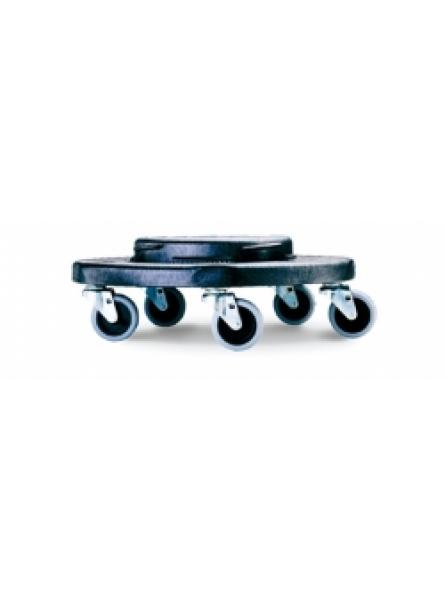 ROUND DOLLY FITS RC-1005 & RC- 1007, 5 CASTORS GREY