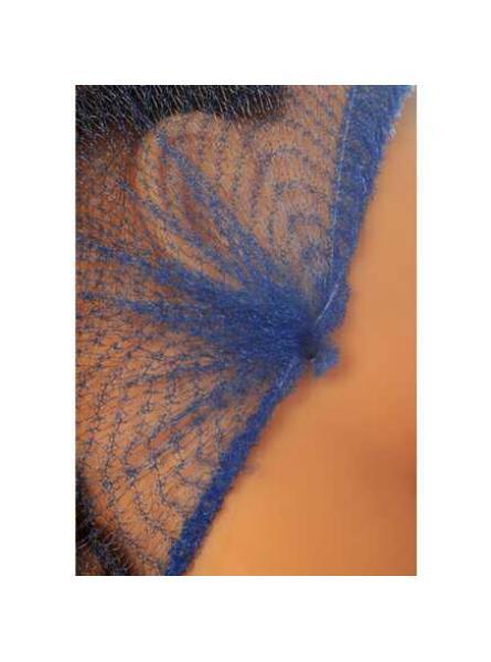 Cater Safe Unisex Hairnet Metal Free Bag of 100-Blue