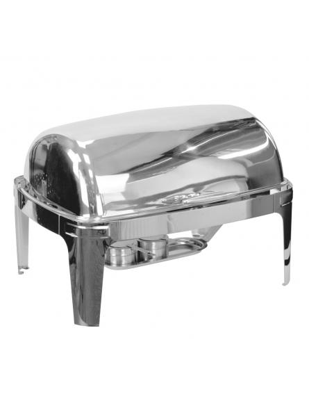 Chafing Dish With Rolling Top 63x44cm (8L) Single (7231A)