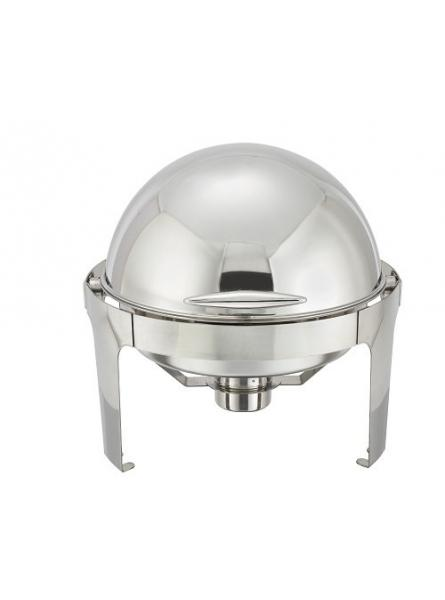 Chafing Dish With Rolling Top Round 46cm-7.5L (721B)