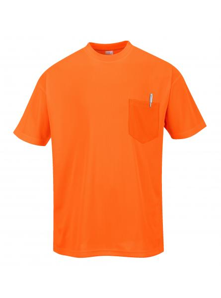 Day-Vis Pocket Short Sleeve T-Shirt