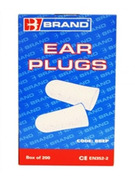 Disposable Ear Plugs (200 Per Pack)