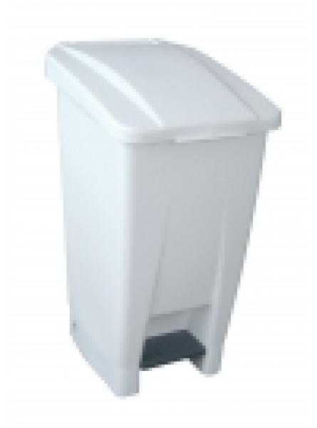 60 Litre waste bin white 440 x 340 x 680mm