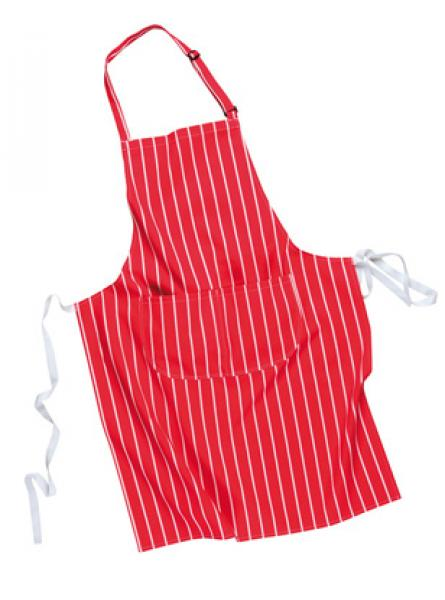 Butchers Apron with Pocket - Red
