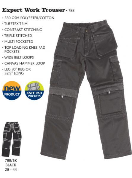 Expert Work Trouser