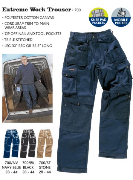 Extreme work Trouser