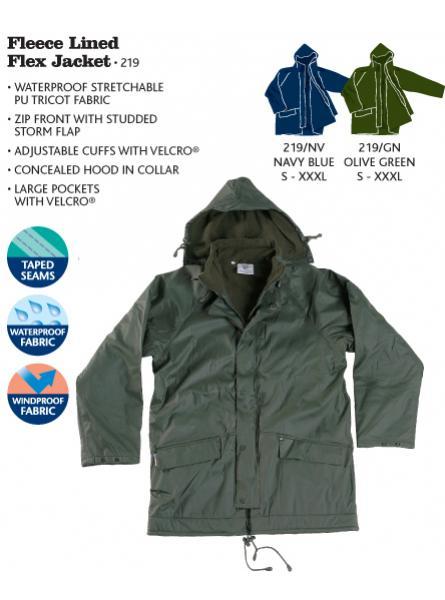Fleece Lined Flex Jacket