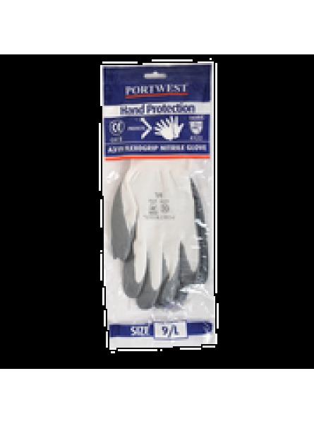 Flexo Grip Nitrile Glove with merchandise bag