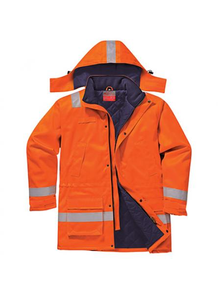 FR Anti Static Winter Jacket Orange