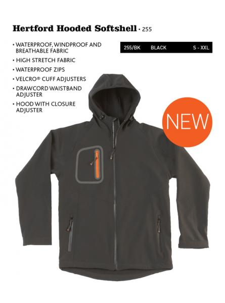 Hertford Hooded Softshell New Line
