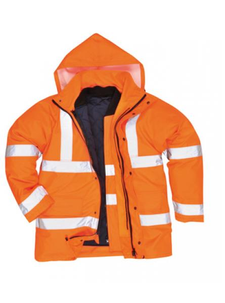 Hi Vis 4in1 Traffic Jacket