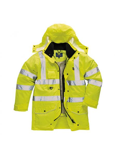 Hi Vis 7in1 Traffic Jacket