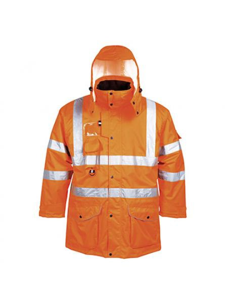 Hi Vis 7in1 Traffic Jacket GO RT