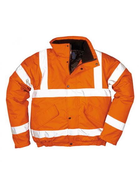 Hi Vis Breathable Bomber Jacket Class 3