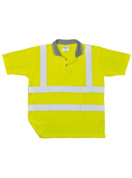 Hi Vis Comfort Polo Shirt