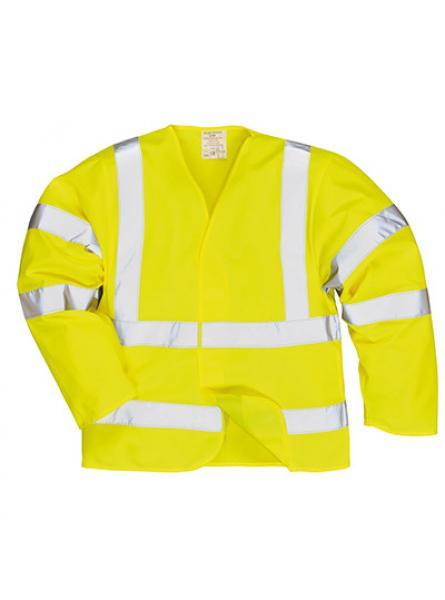 Hi Vis Jacket Flame Resistant Yellow