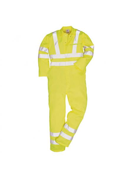 Hi Vis Polycotton Coverall