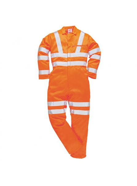 Hi Vis Polycotton Coverall GO RT